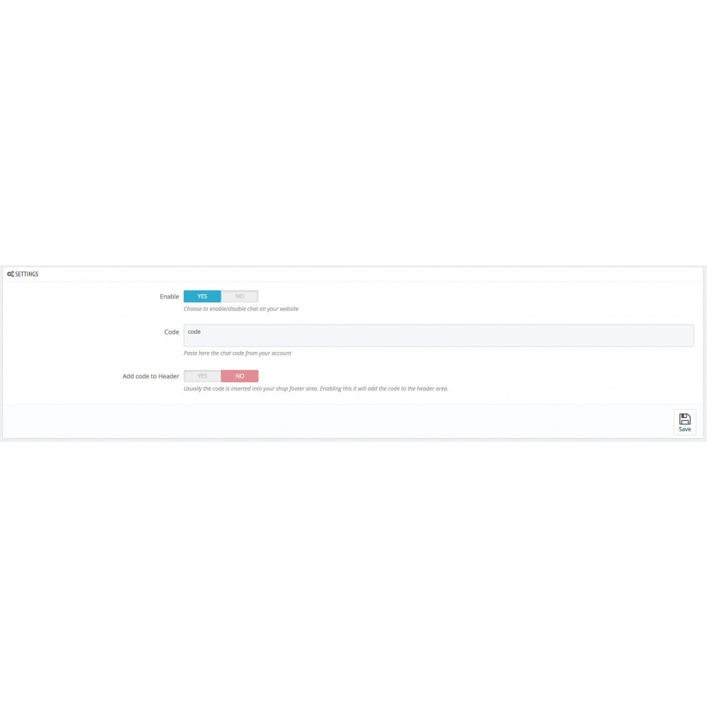 module - Support & Online Chat - Freshchat - Live Chat by Freshworks - 2