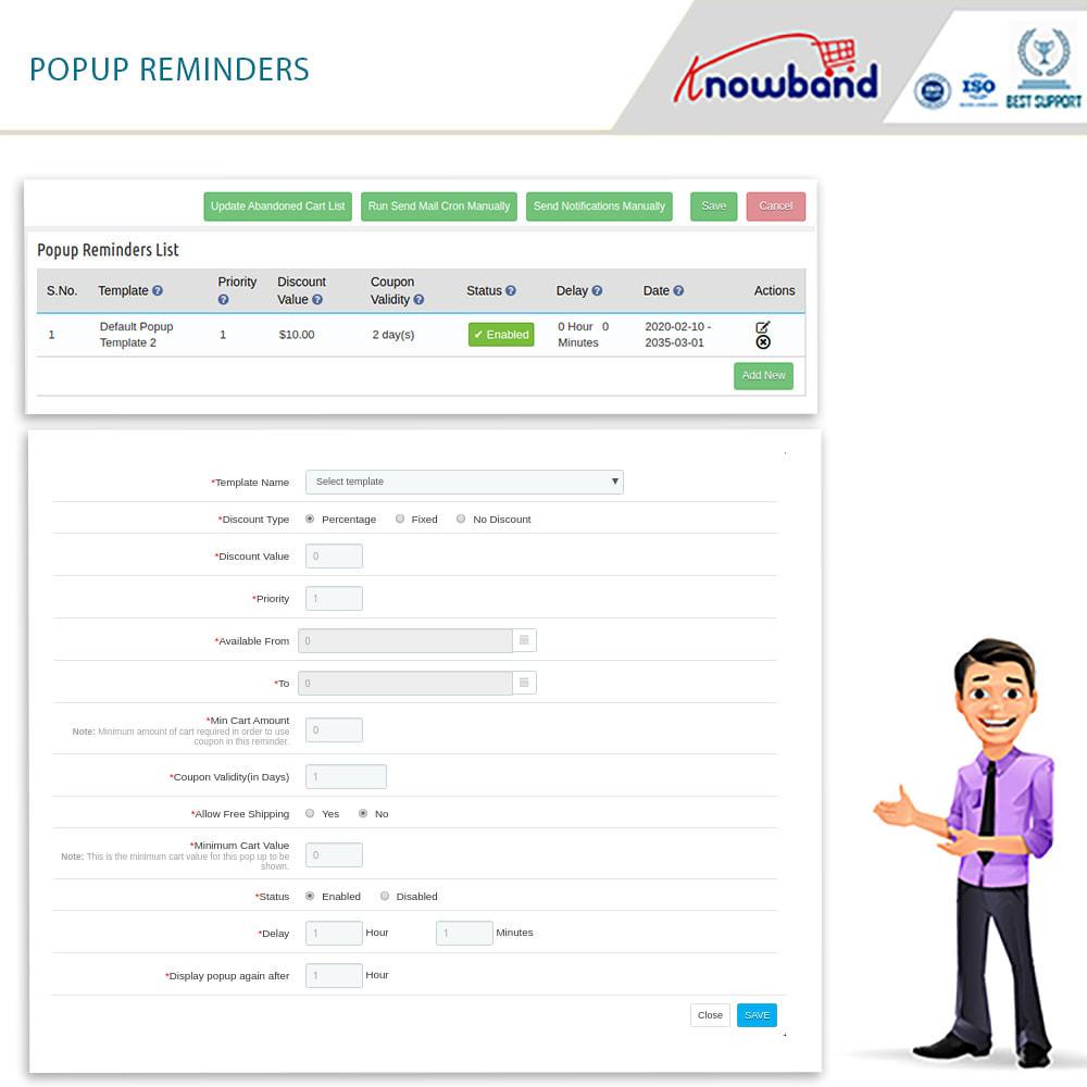 module - Remarketing & Warenkorbabbrüche - Erinnerer für stehengelassene Einkaufswagen - 3
