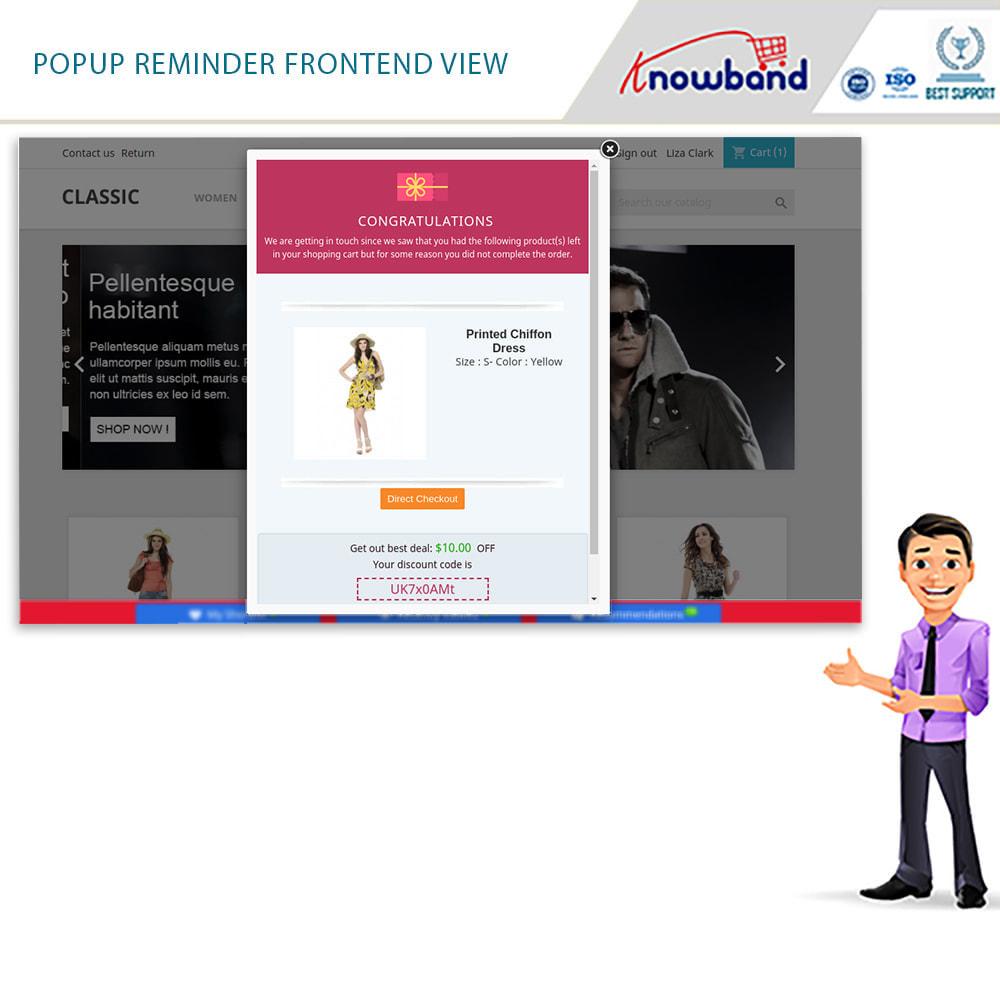 module - Remarketing & Warenkorbabbrüche - Erinnerer für stehengelassene Einkaufswagen - 7
