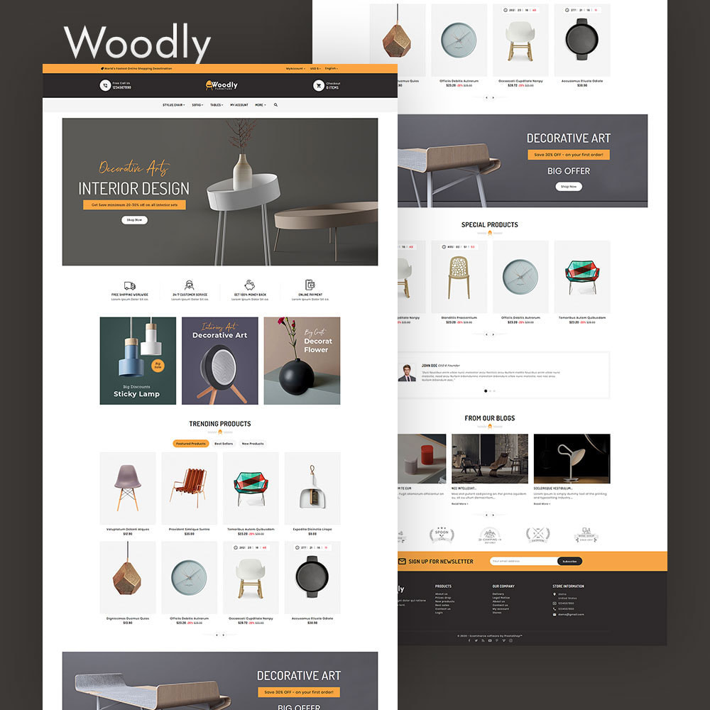 theme - Dom & Ogród - Woodly - Home Crafts & Furniture - 2