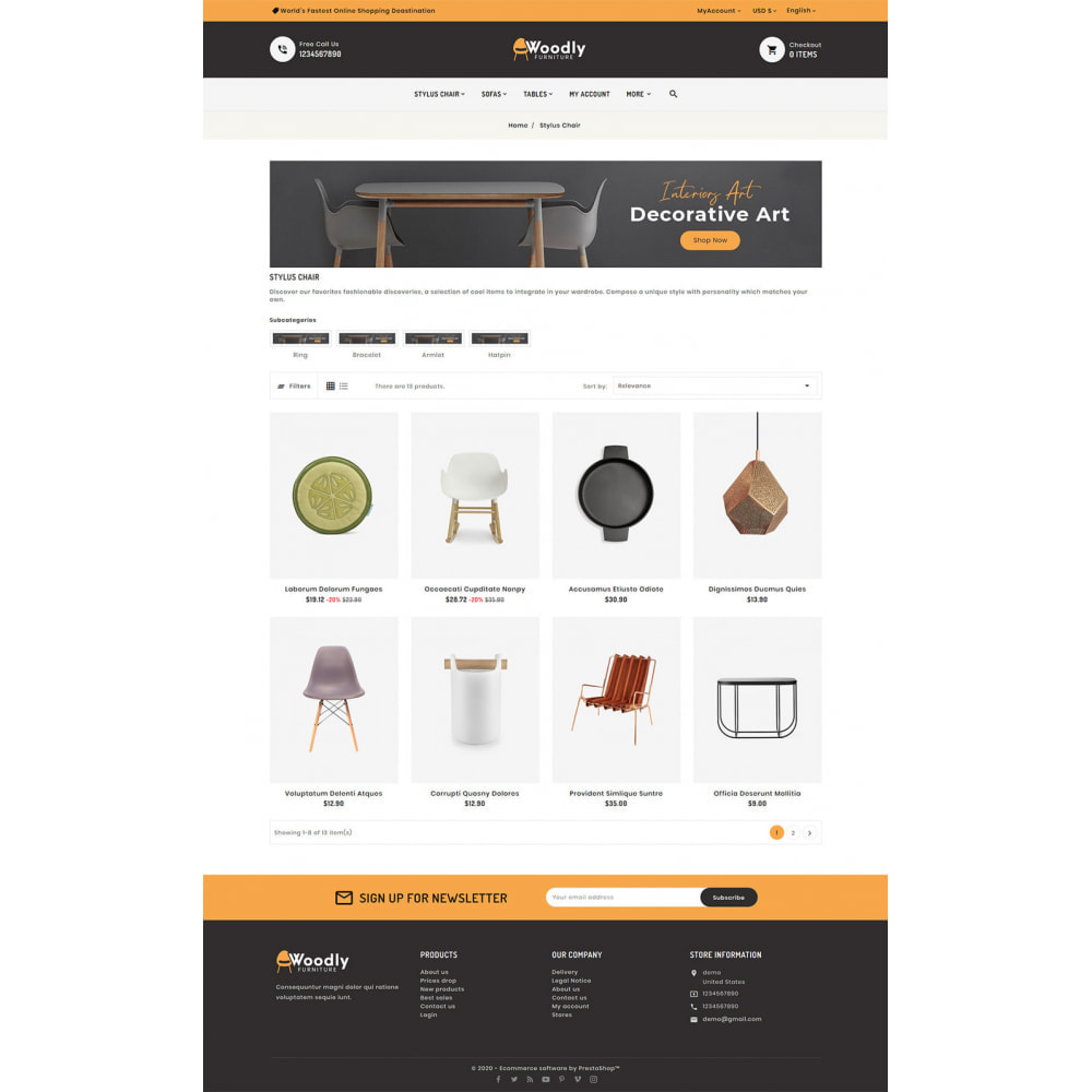 theme - Dom & Ogród - Woodly - Home Crafts & Furniture - 3