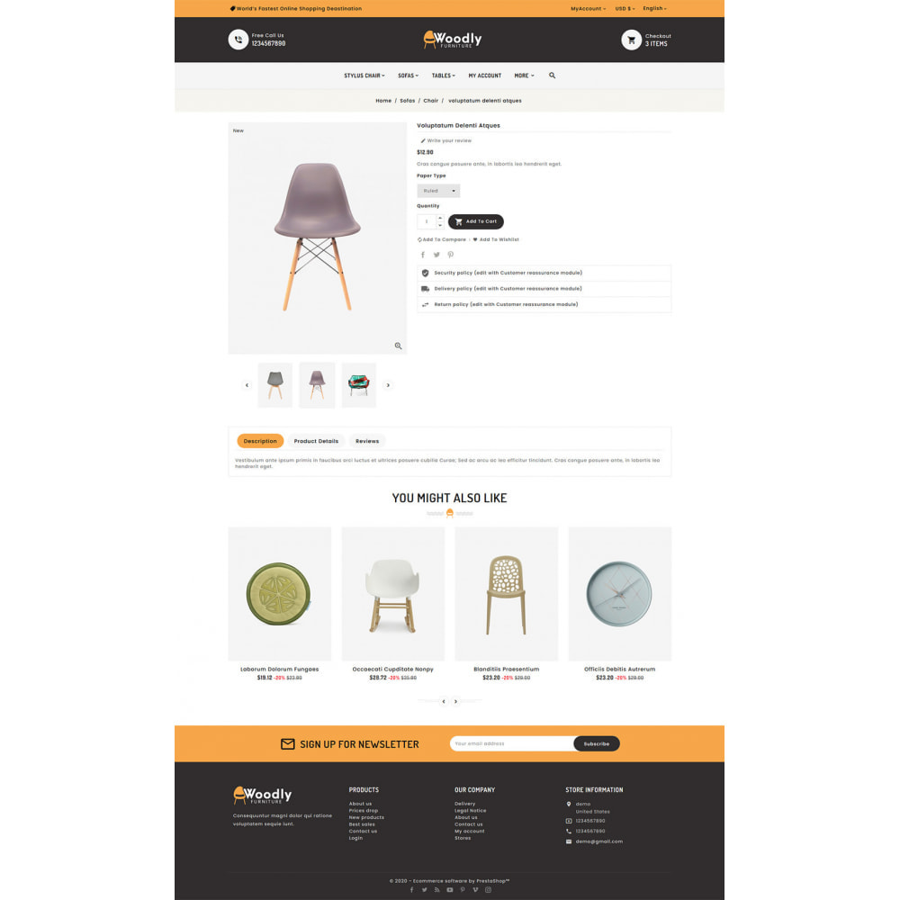 theme - Dom & Ogród - Woodly - Home Crafts & Furniture - 5