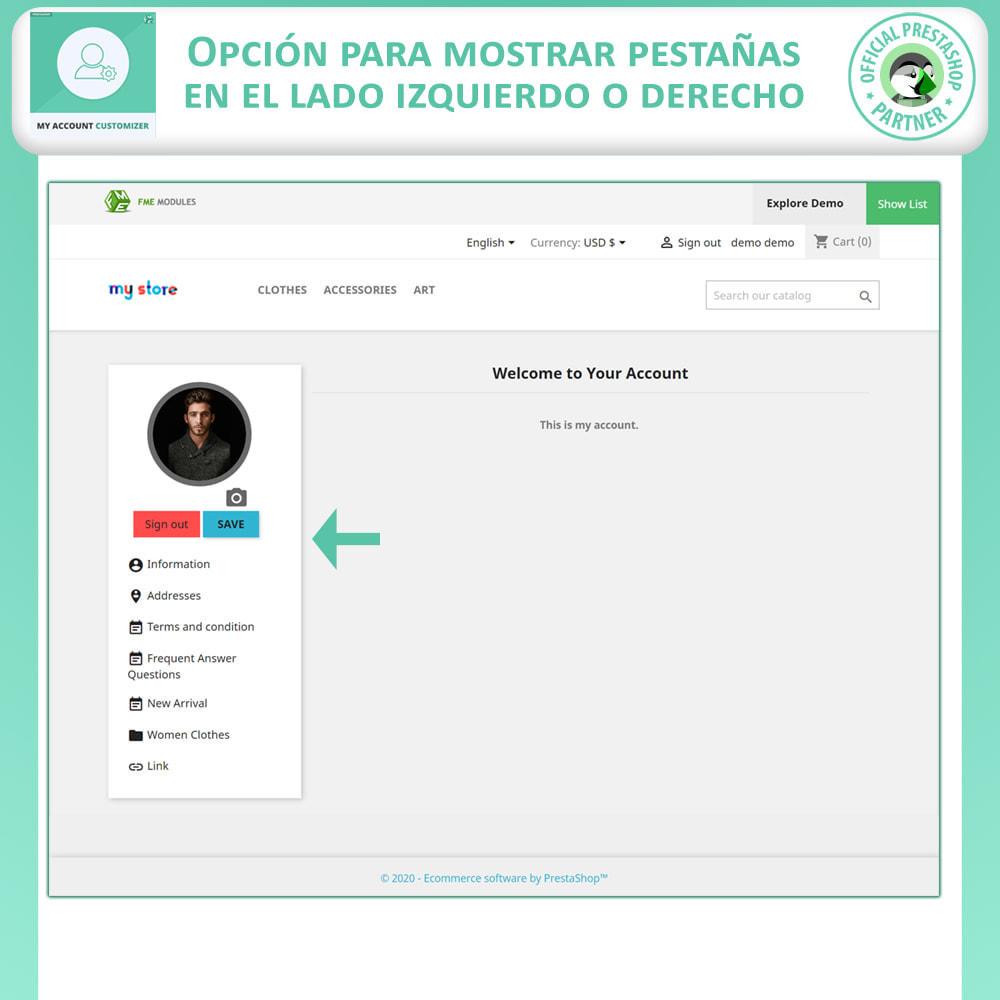 module - Herramientas Administrativas - Personalizador De Mi Cuenta - 2