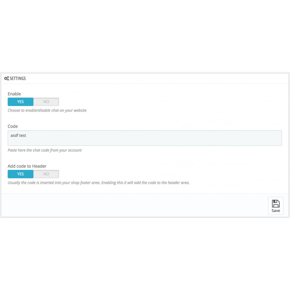 module - Support & Online Chat - User.com - Live chat & Automatic Messaging - 2