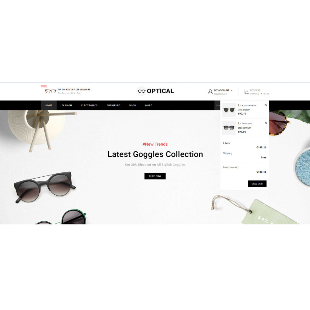 theme - Jewelry & Accessories - Optical - Goggles Store - 8