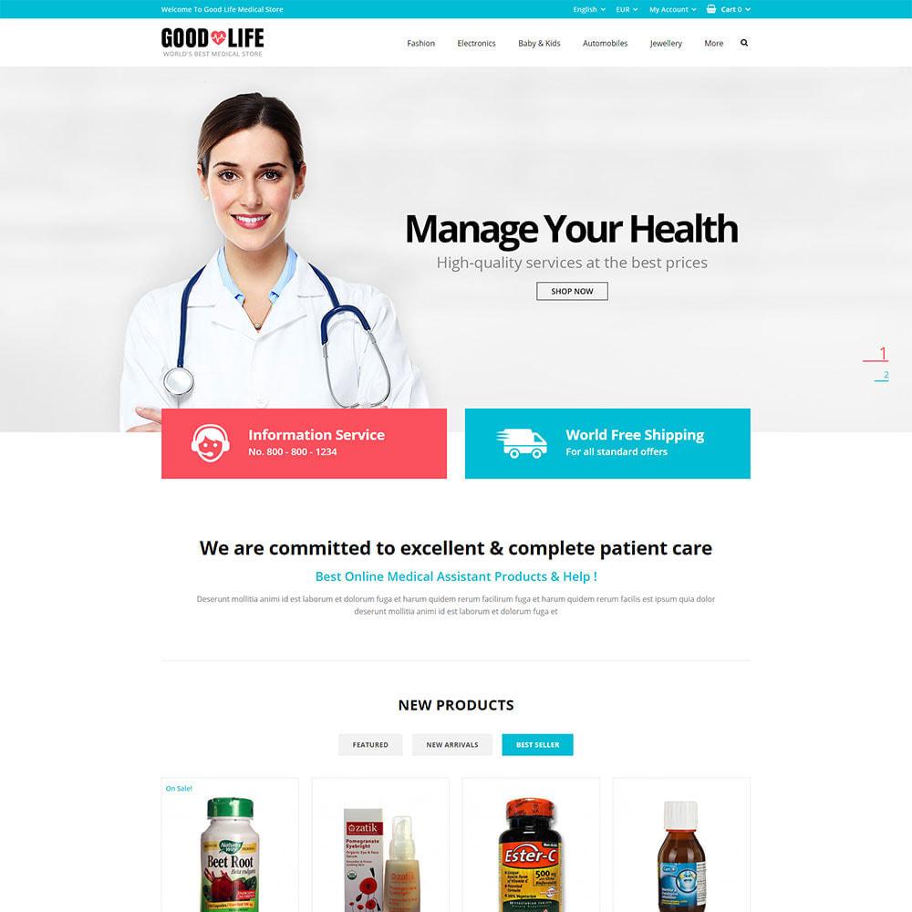 theme - Health & Beauty - Good Life - Medical Store - 1