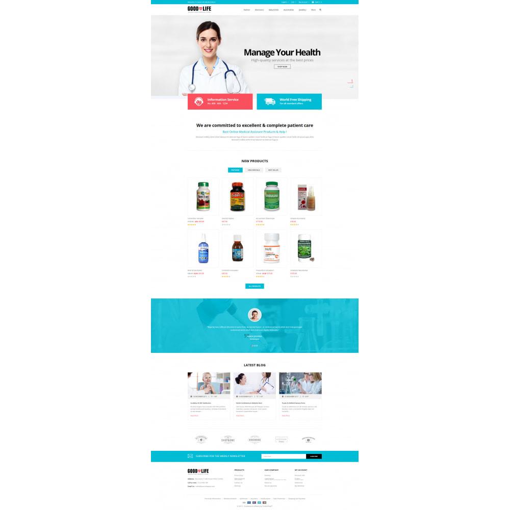 theme - Health & Beauty - Good Life - Medical Store - 2