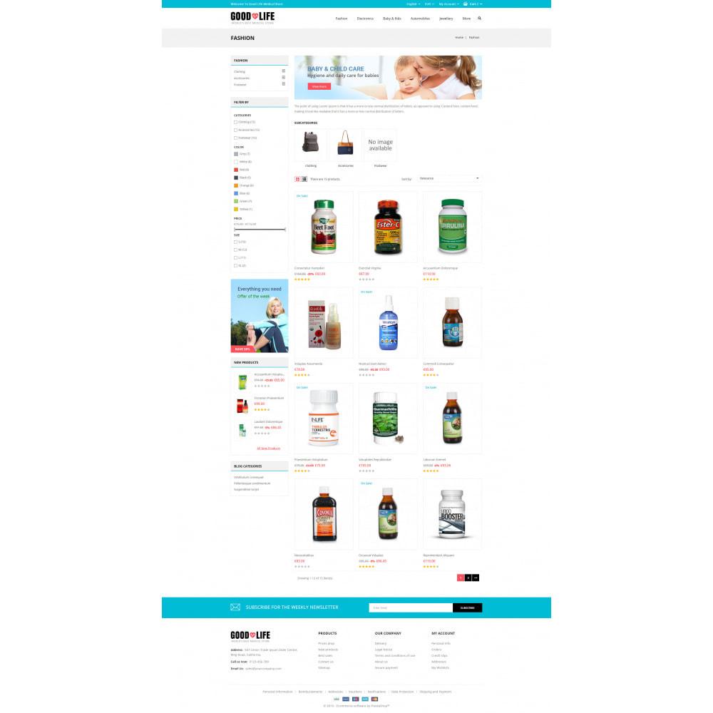 theme - Health & Beauty - Good Life - Medical Store - 3