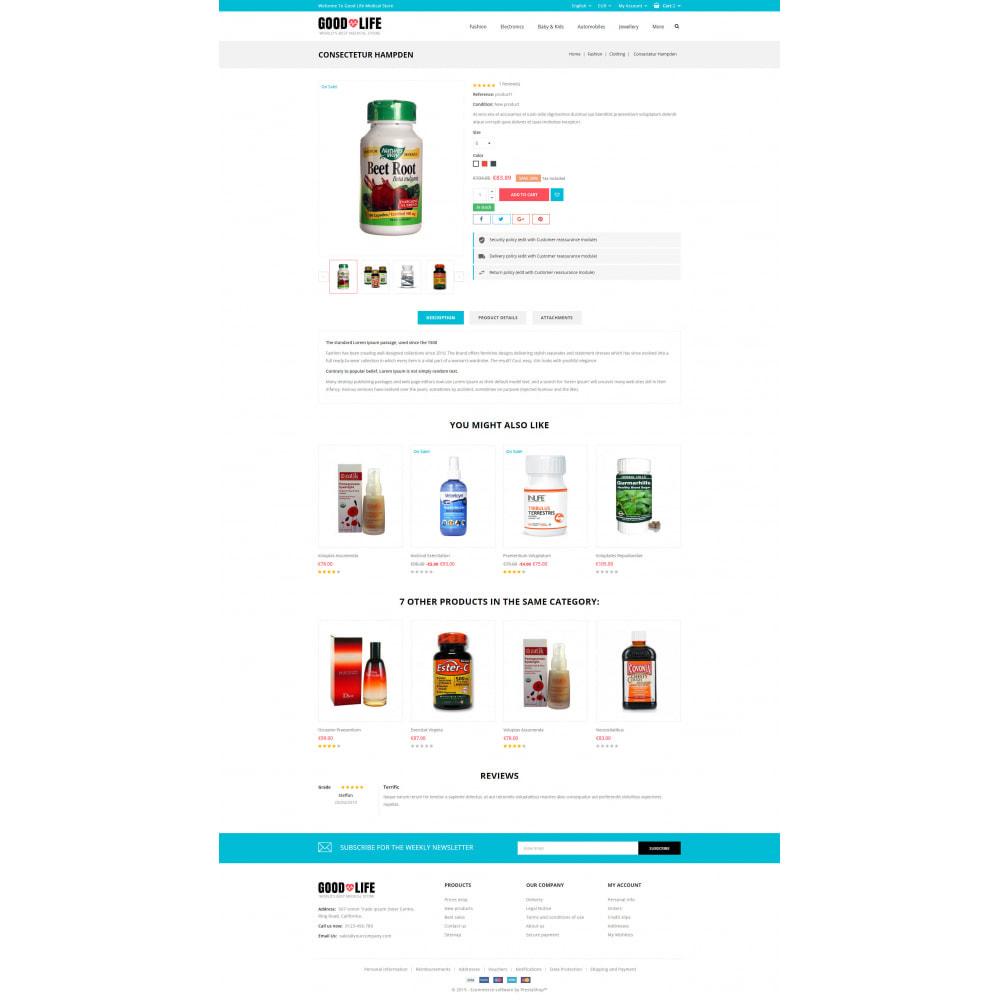 theme - Health & Beauty - Good Life - Medical Store - 5