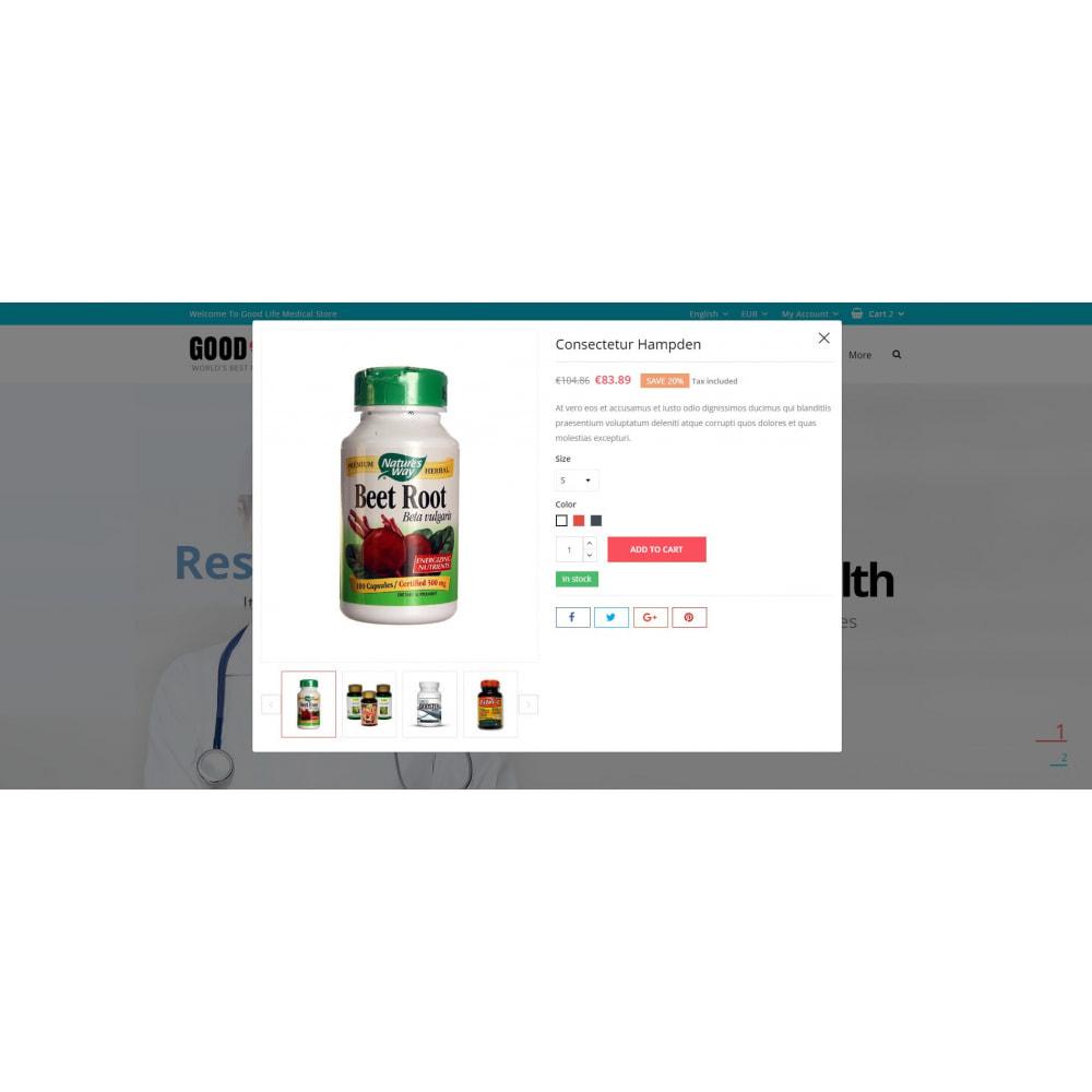 theme - Health & Beauty - Good Life - Medical Store - 7