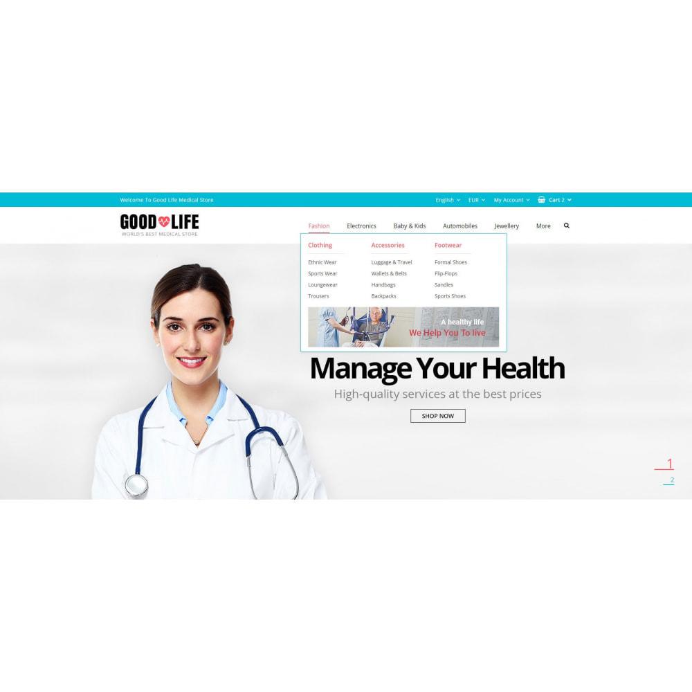 theme - Health & Beauty - Good Life - Medical Store - 8