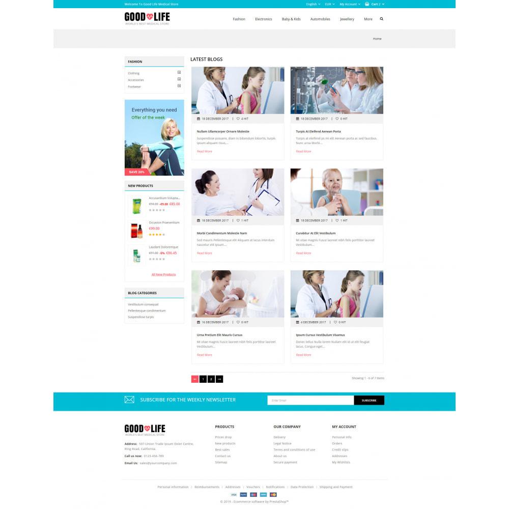 theme - Health & Beauty - Good Life - Medical Store - 9
