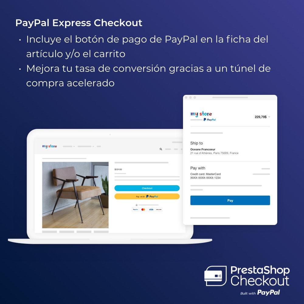 module - Pago con Tarjeta o Carteras digitales - PrestaShop Checkout built with PayPal - 7