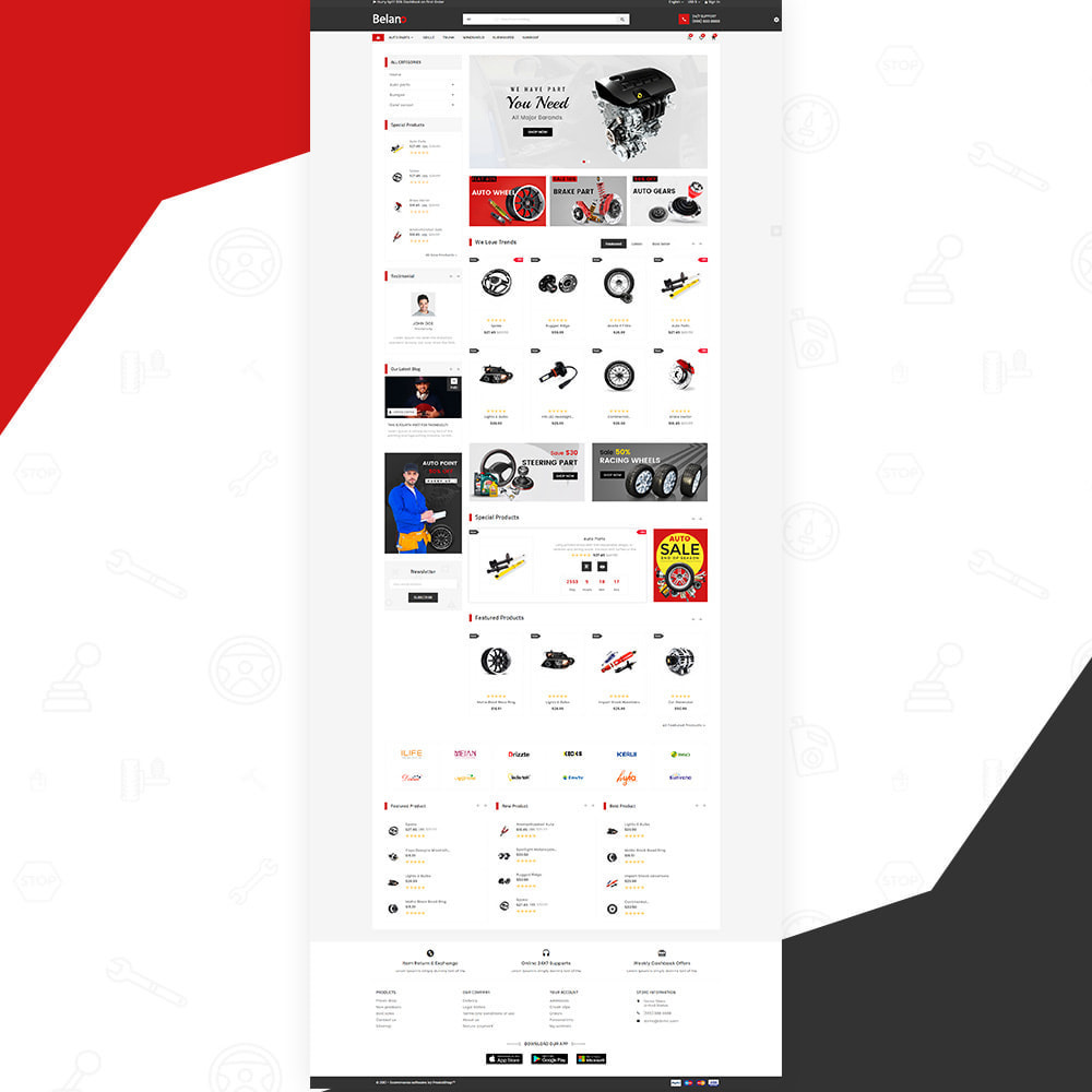 theme - Авто и Мото - Belano – AutoPart Super Store - 2