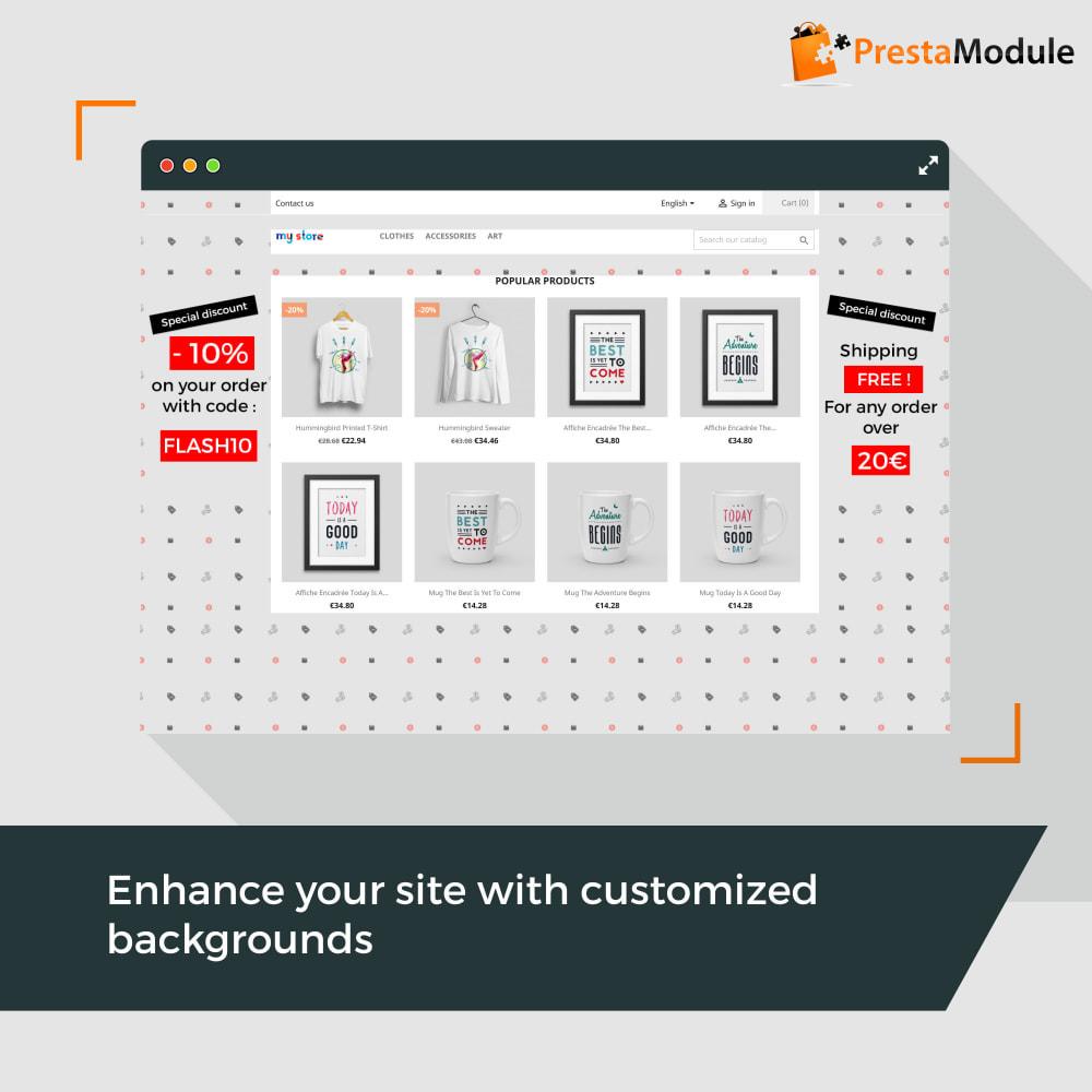 module - Personalizzazione pagine - Advanced Background Changer - 1