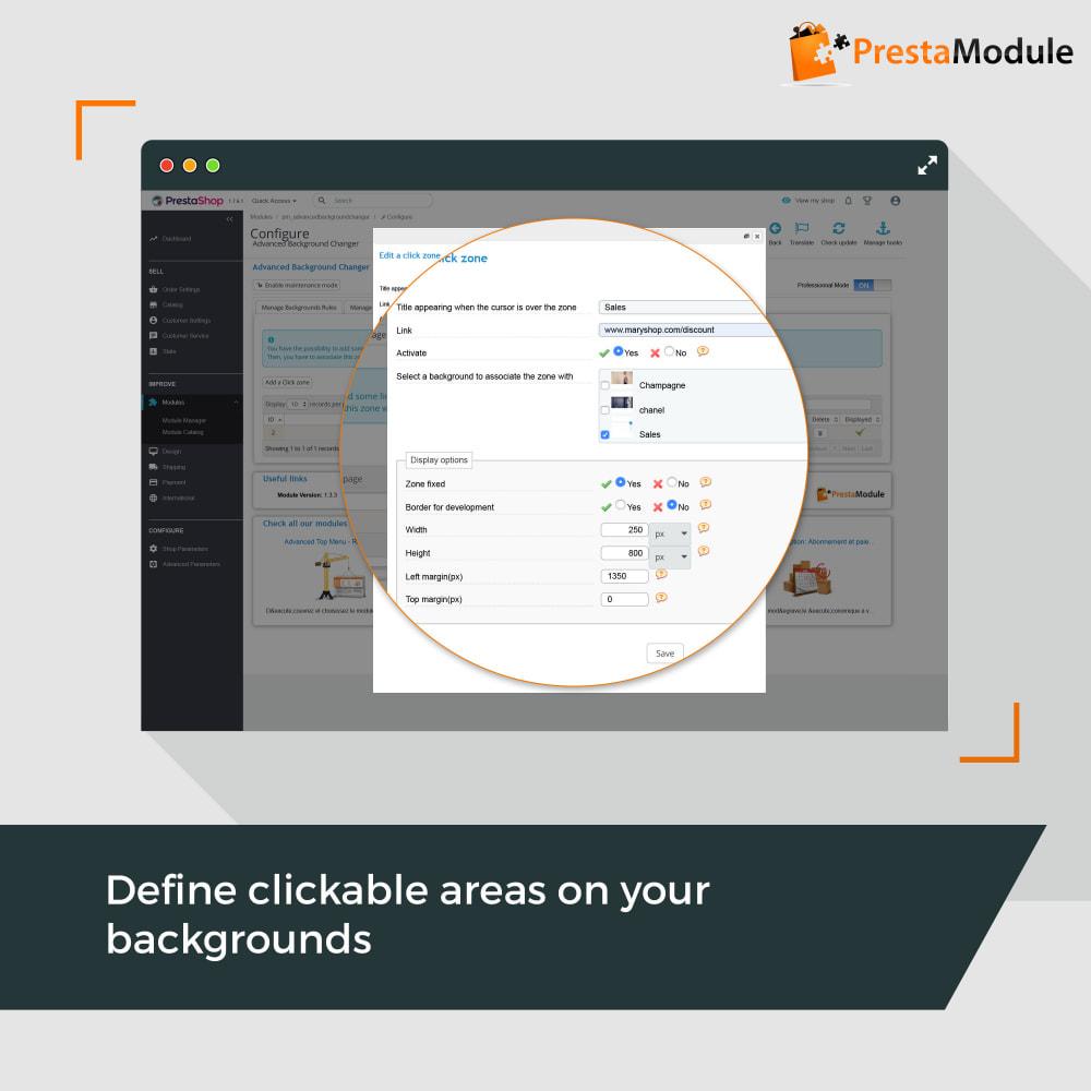 module - Personalizzazione pagine - Advanced Background Changer - 3