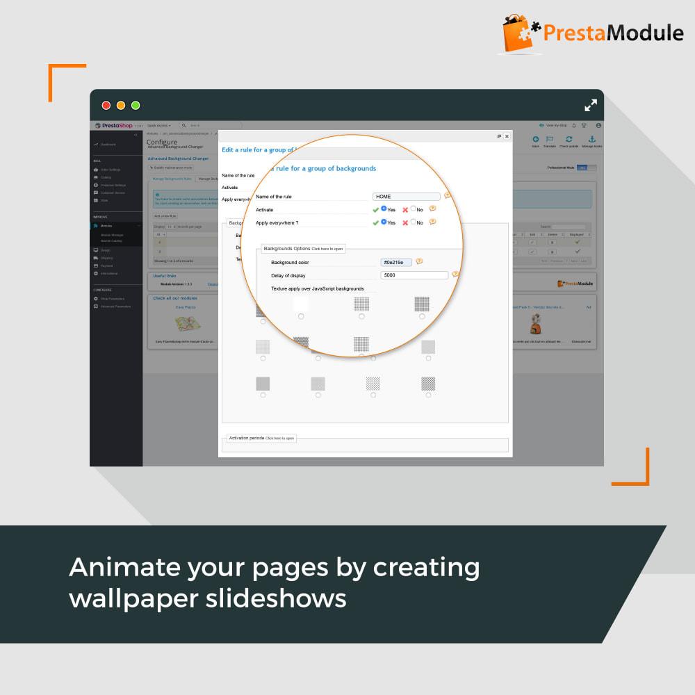 module - Personalizzazione pagine - Advanced Background Changer - 4