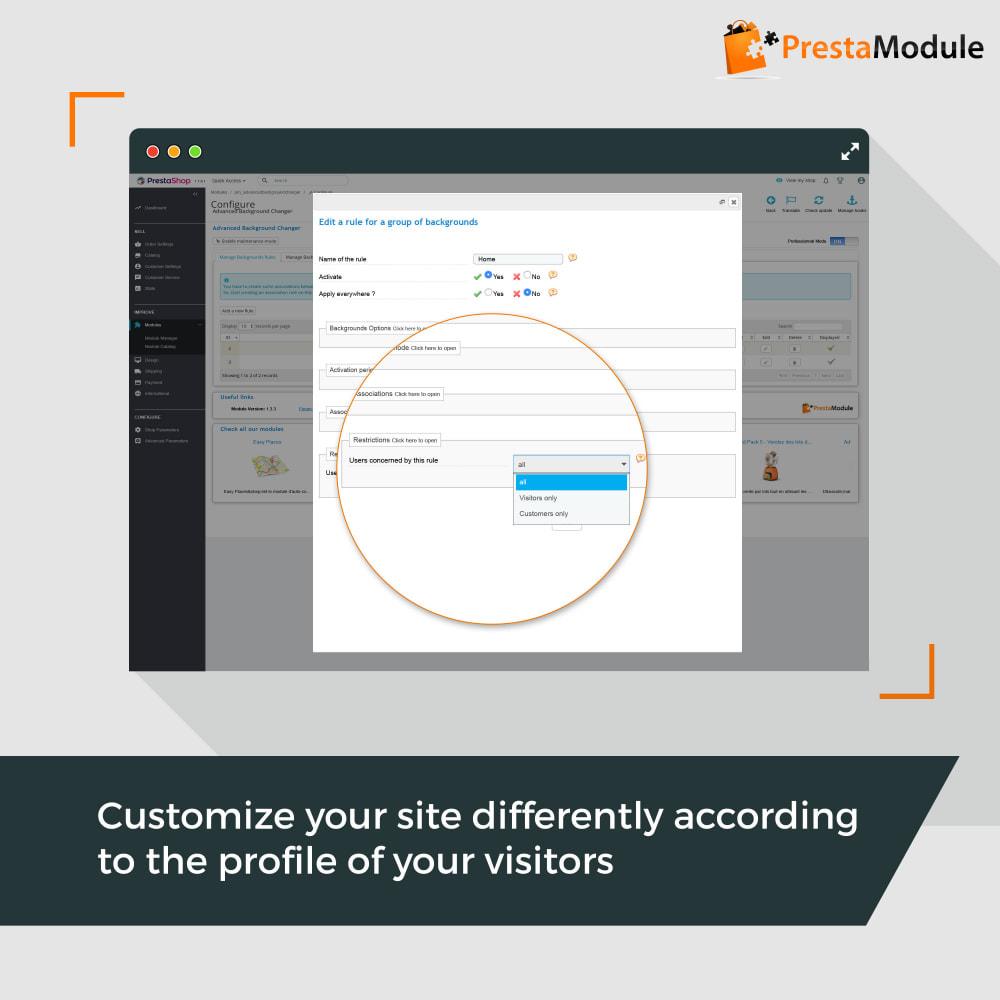 module - Personalizzazione pagine - Advanced Background Changer - 5