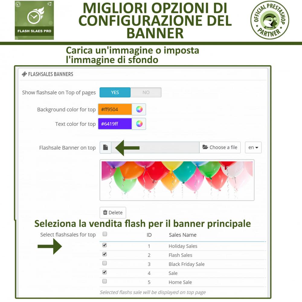 module - Flash & Private Sales - Vendite Flash con Timer di Conto alla Rovescia - 17