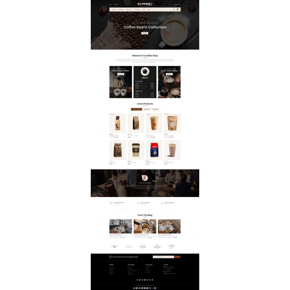 theme - PrestaShop Themen - Fresh Coffee Shop - 2