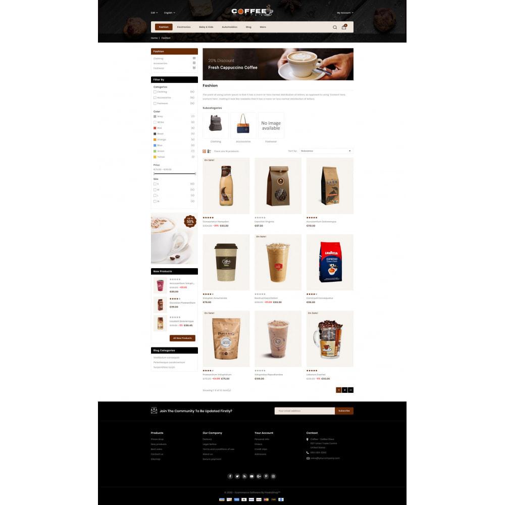 theme - PrestaShop Themen - Fresh Coffee Shop - 3