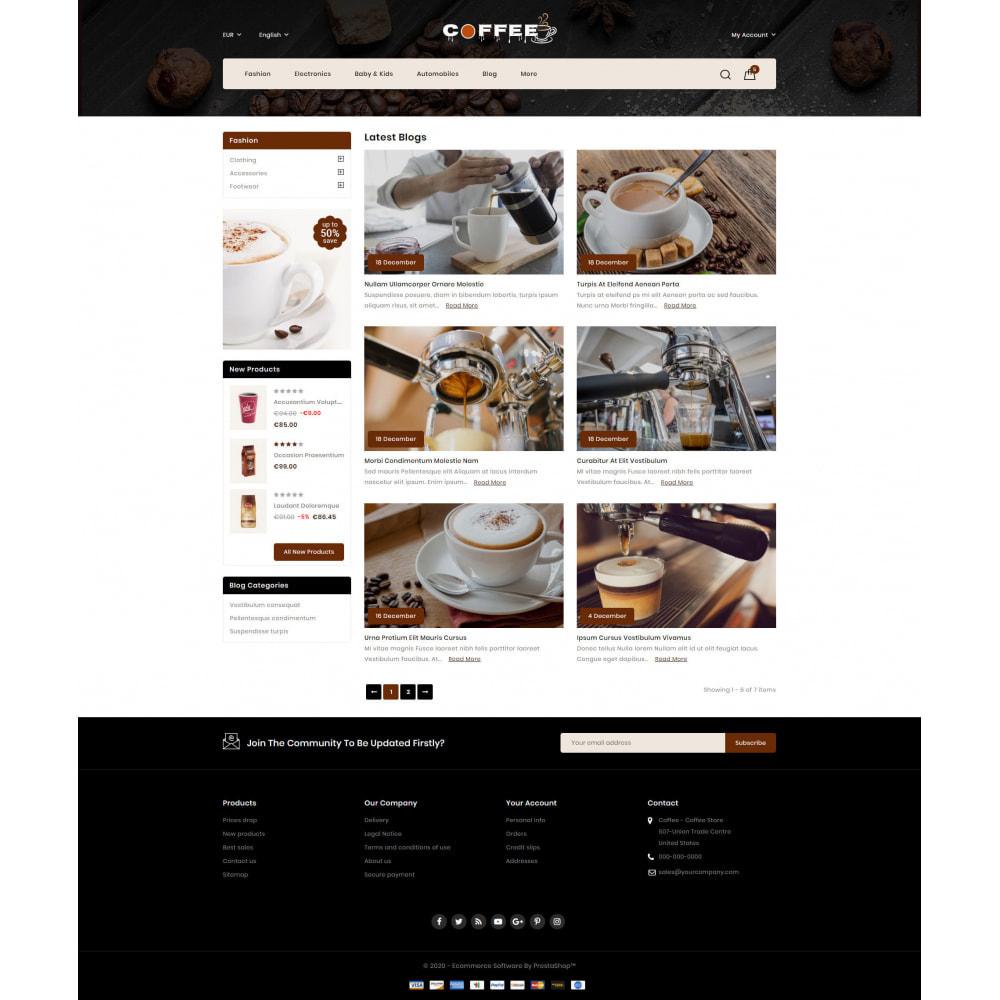 theme - PrestaShop Themen - Fresh Coffee Shop - 9