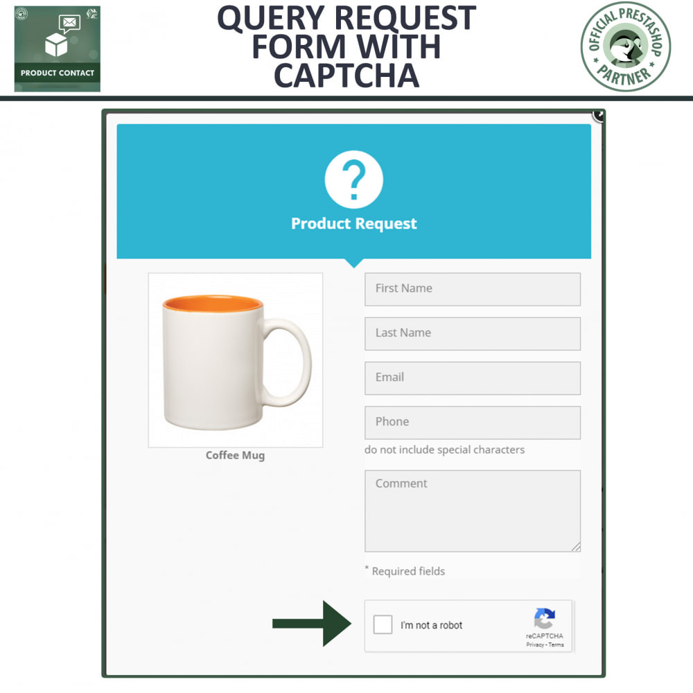 module - Contact Forms & Surveys - Product Inquiry - Contact Form - 3
