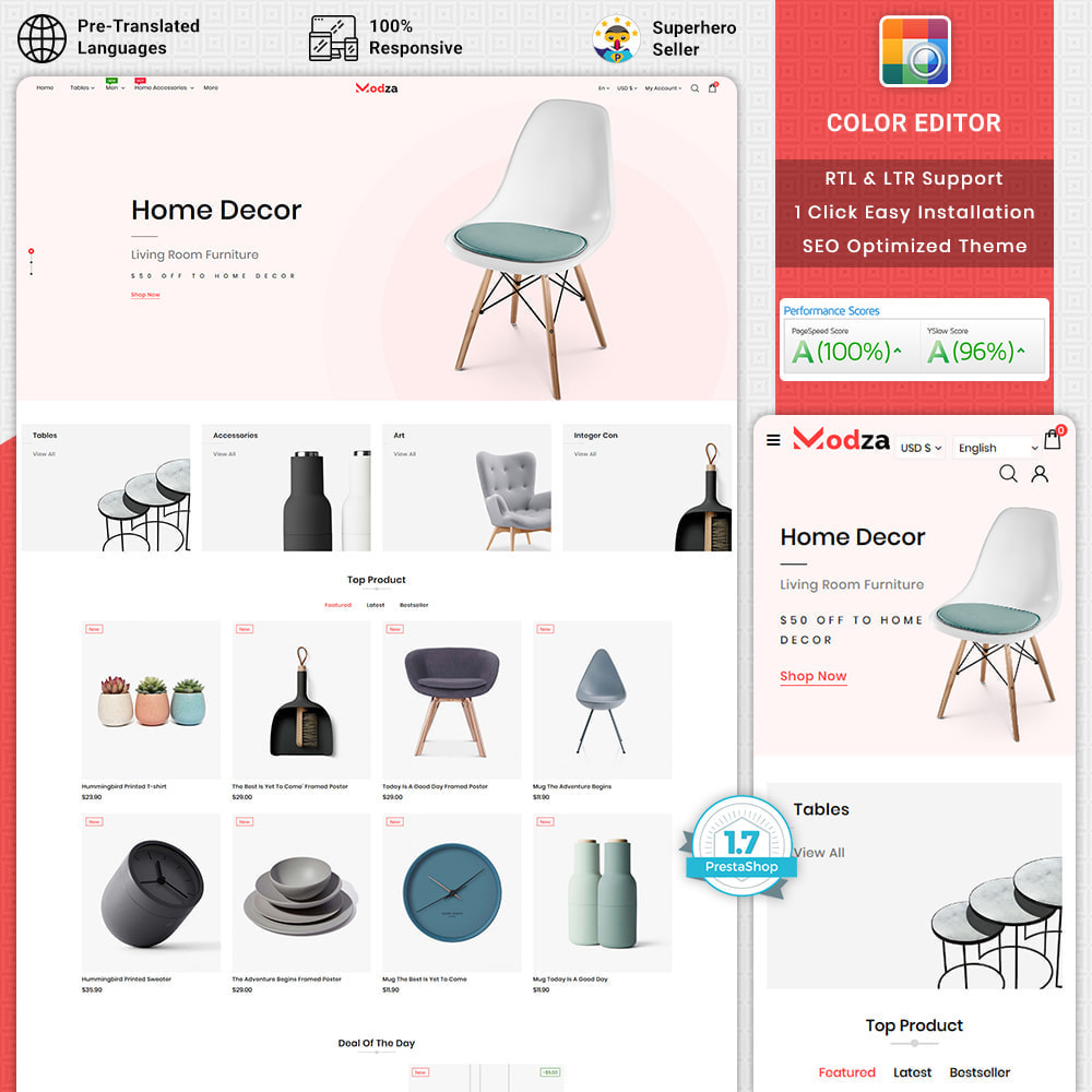 theme - Дом и сад - Modza - The Best Furniture Store - 1