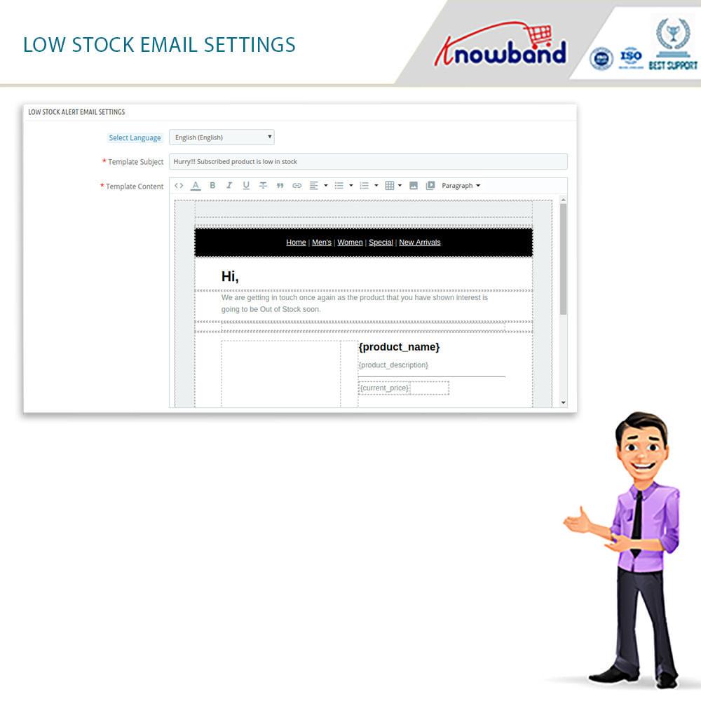 module - E-Mails & Benachrichtigungen - Knowband- Wieder-auf-Lager-Benachrichtigungen - 4