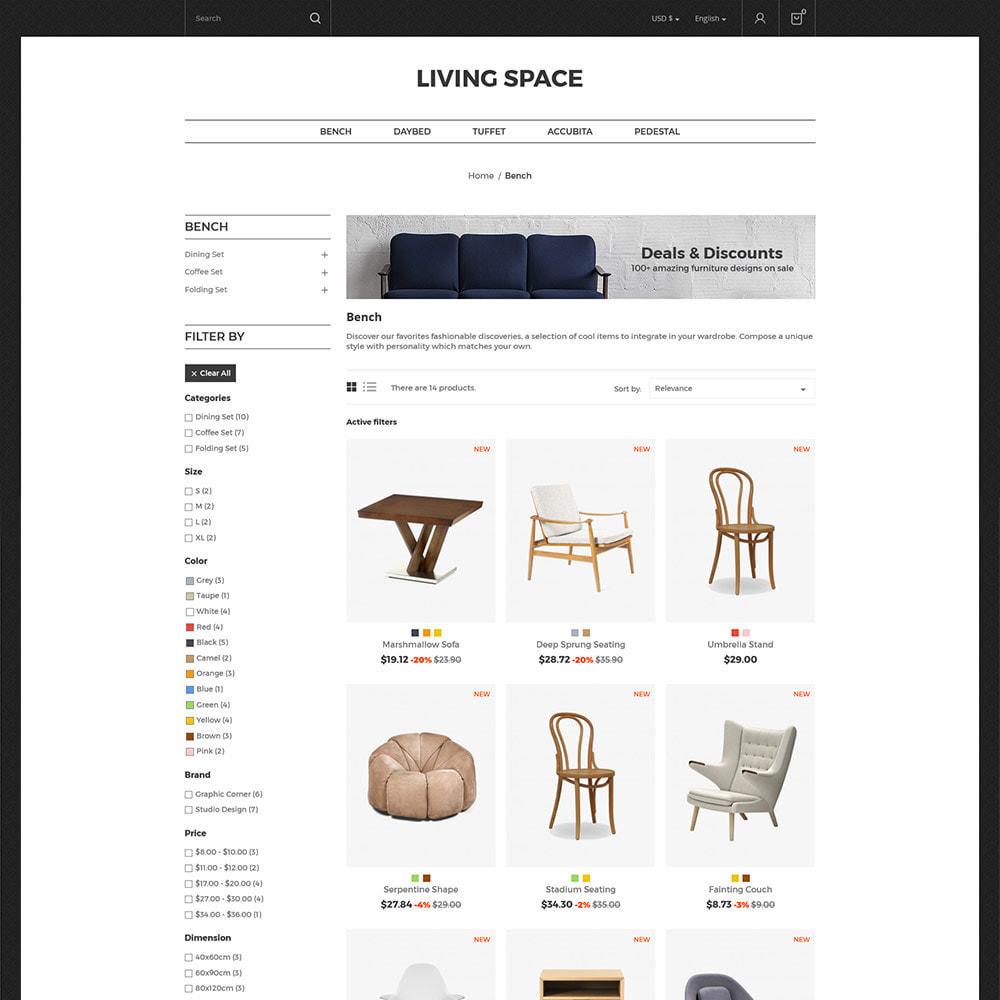 theme - Hogar y Jardín - Furniture  Wood -  Interior Decoration Kitchen Store - 2
