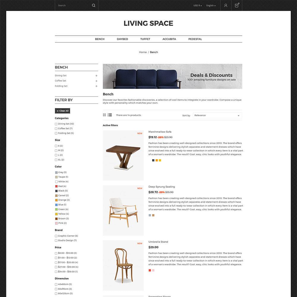 theme - Hogar y Jardín - Furniture  Wood -  Interior Decoration Kitchen Store - 3