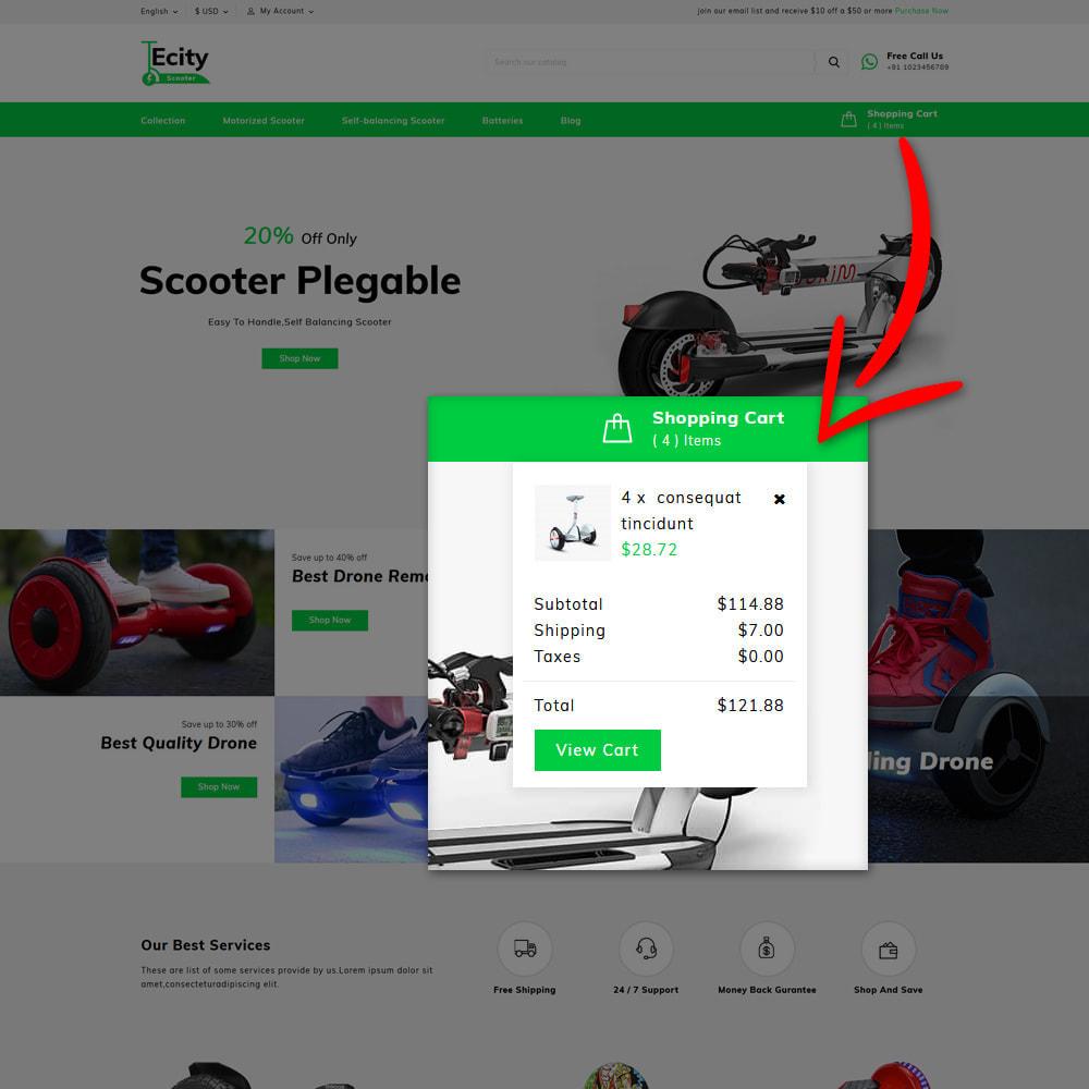 theme - Шаблоны PrestaShop - Ecity Scooter Store - 6