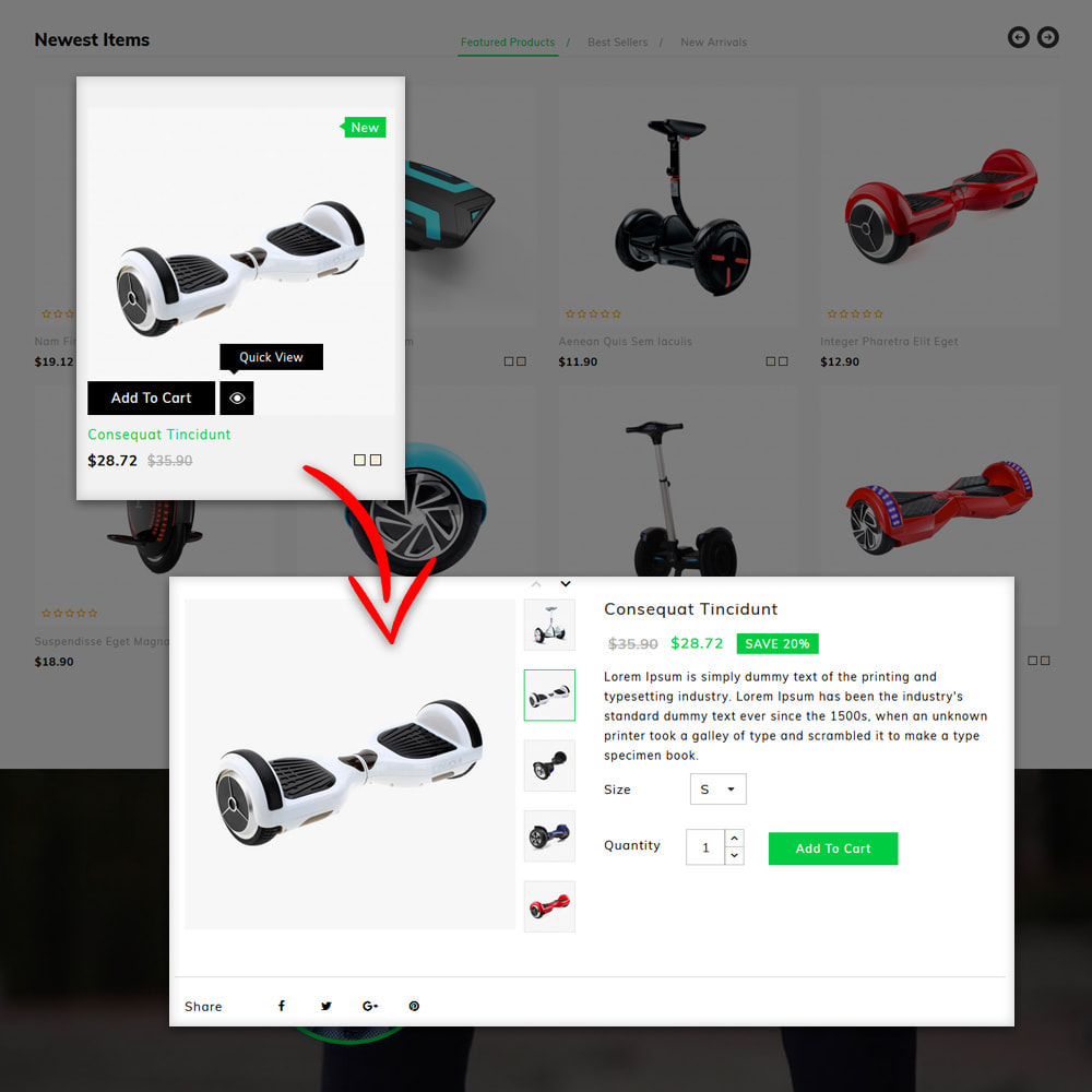 theme - Шаблоны PrestaShop - Ecity Scooter Store - 7