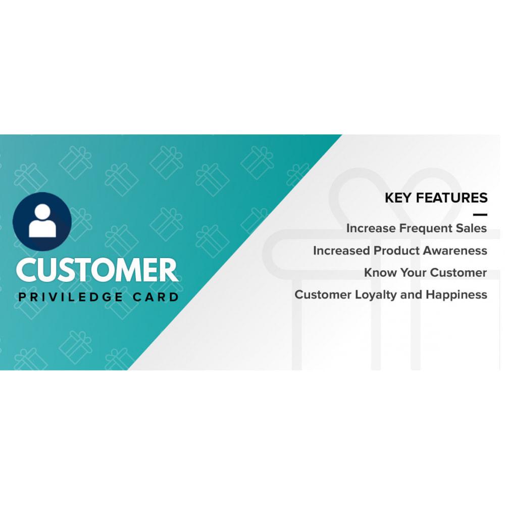 module - Referral & Loyalty Programs - Customer Privilege Card - 1