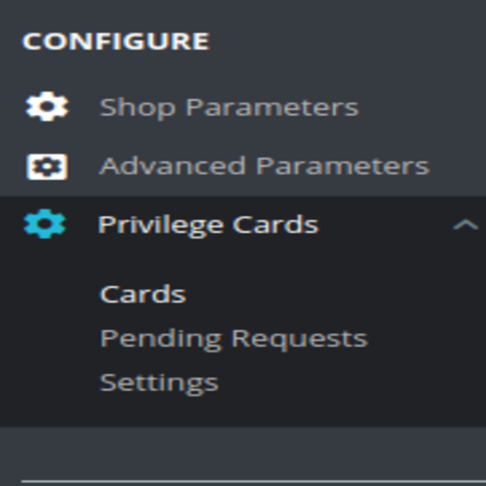 module - Referral & Loyalty Programs - Customer Privilege Card - 2
