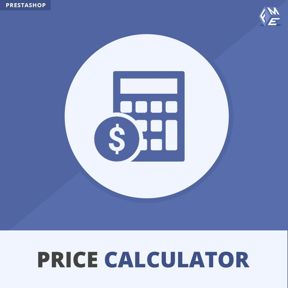 module - Grandezze & Unità di misura - Calcolatore di prezzi dinamico - 1