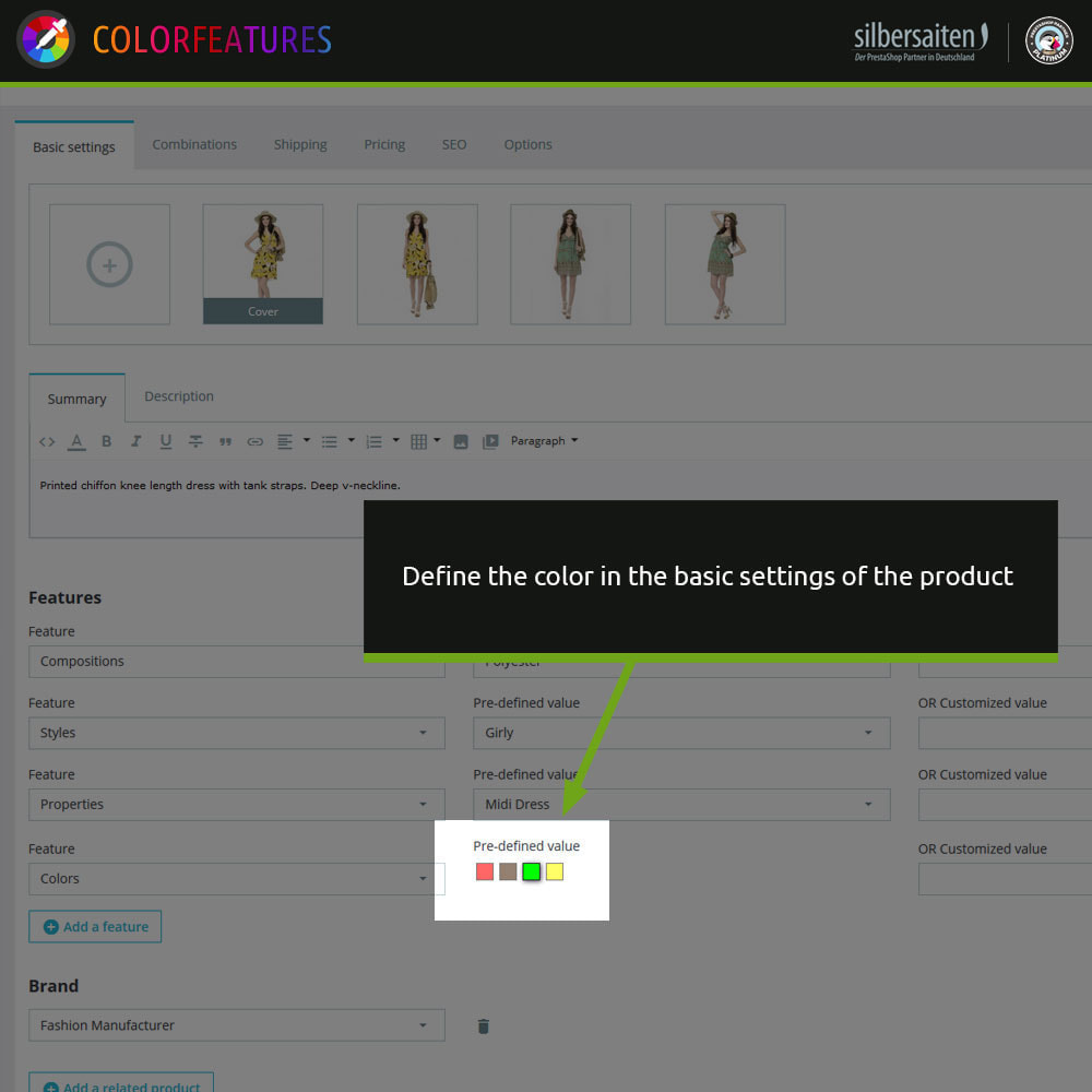 module - Search & Filters - Features - extended by colors - 5