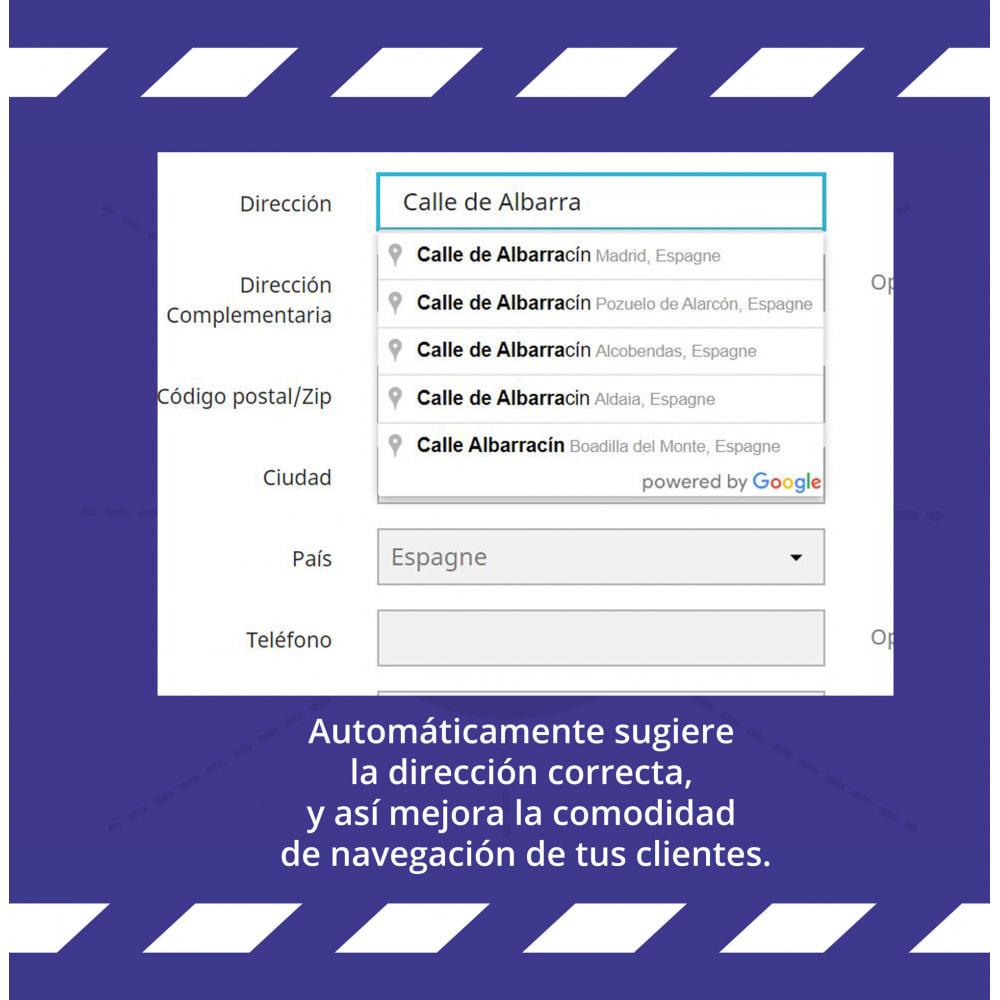 module - Inscription & Processus de commande - Suggestion d'adresse (par Google) - 7