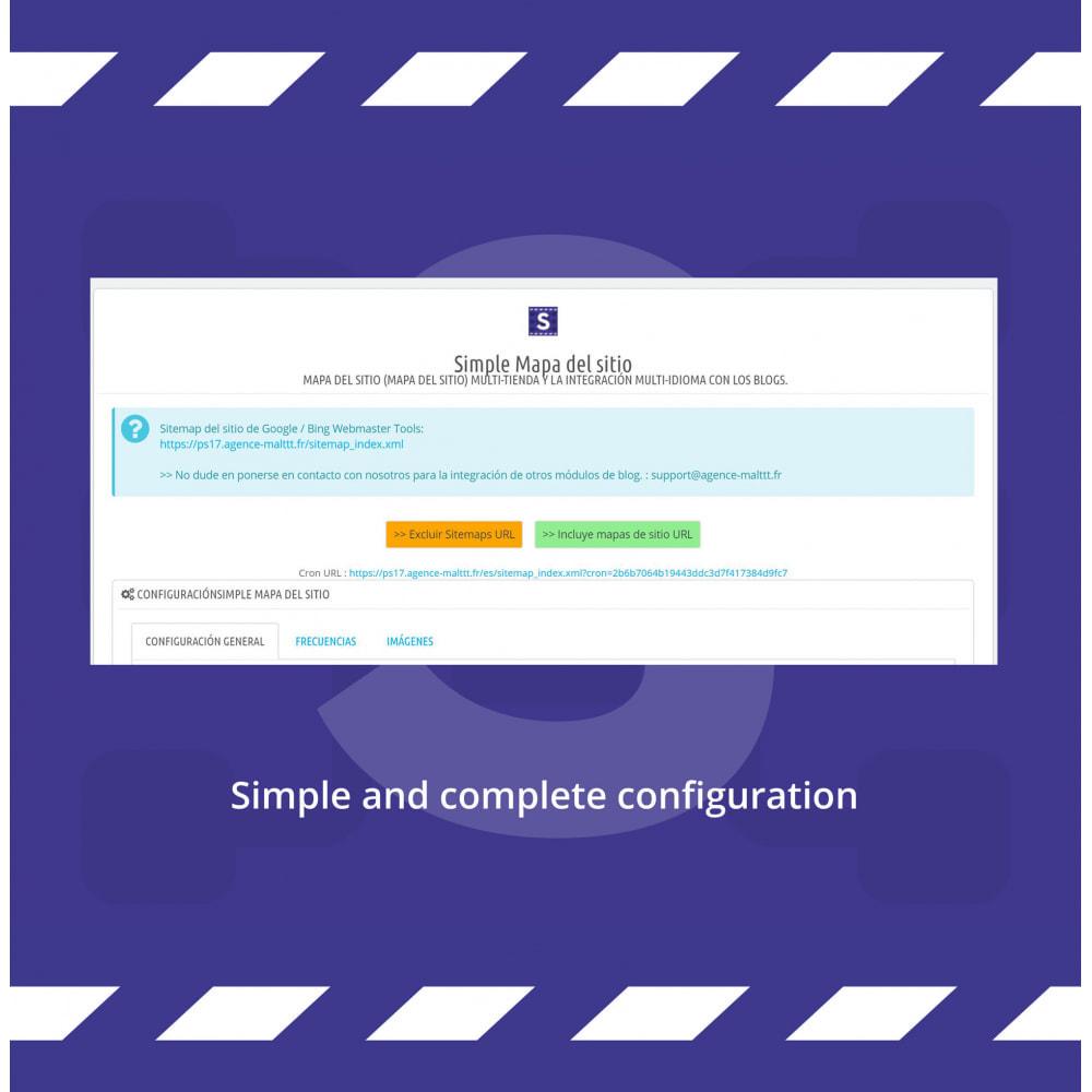module - SEO (Posicionamiento en buscadores) - Sitemap Simple (multitienda, multiidioma & blogs) - 1
