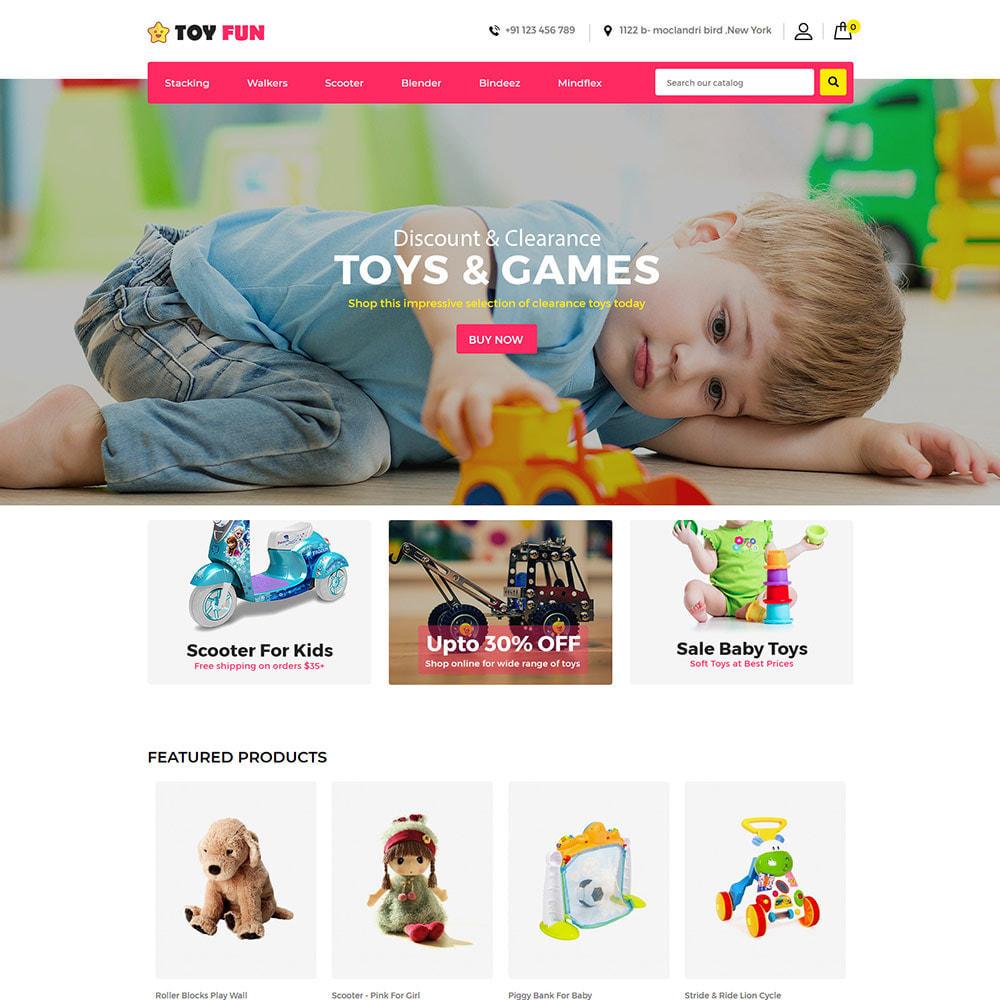 theme - Kinder & Spielzeug - Toyfan Kids  - Baby Puzzle Children Store - 2