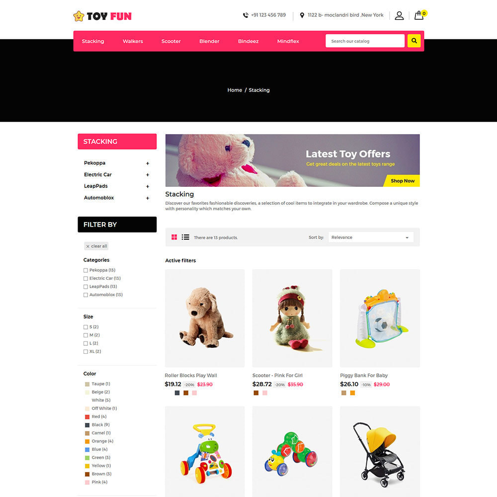 theme - Kinder & Spielzeug - Toyfan Kids  - Baby Puzzle Children Store - 3