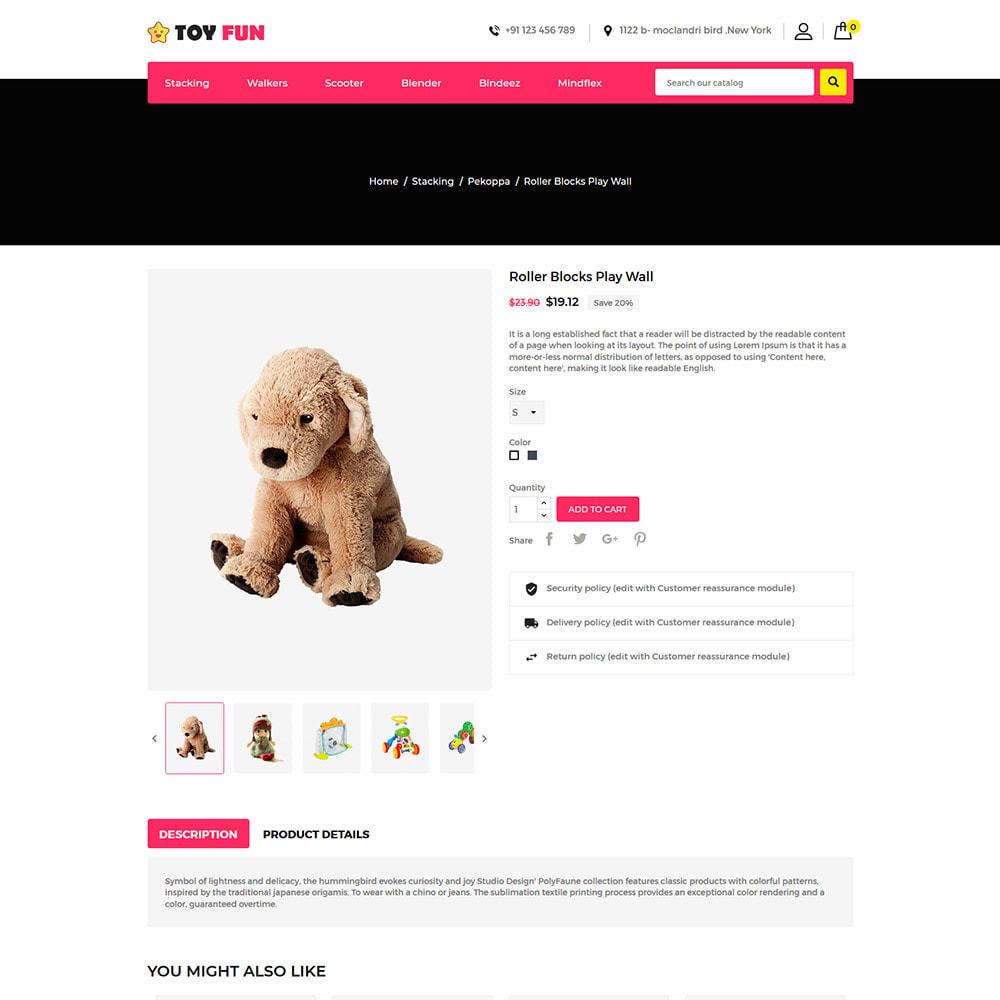 theme - Kinder & Spielzeug - Toyfan Kids  - Baby Puzzle Children Store - 5