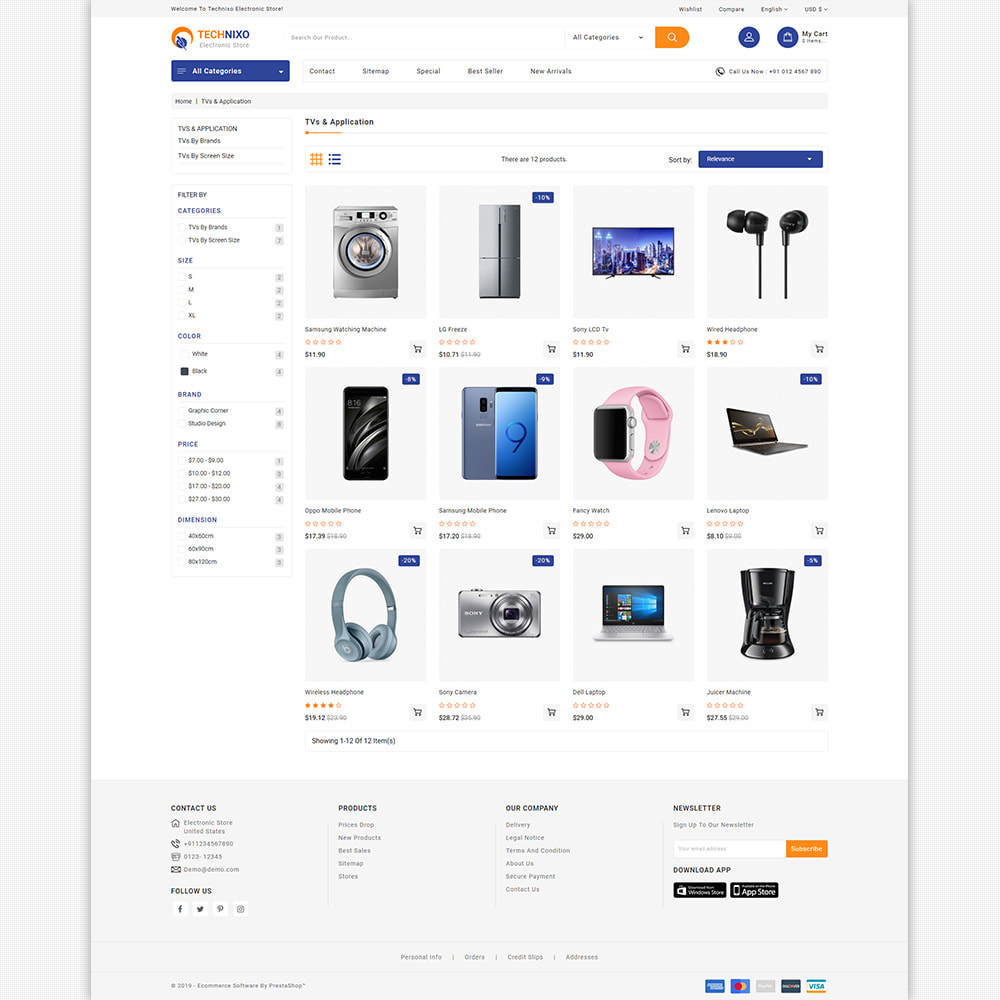 theme - Elektronik & High Tech - Trandnix - Multi Purpose Super Mega Store - 6