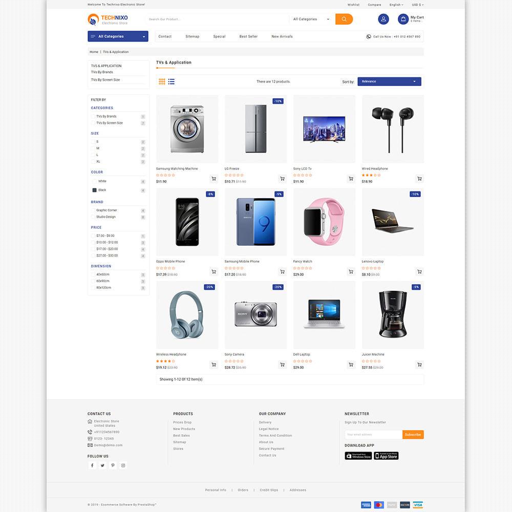 theme - Elektronik & High Tech - Trandnix - Multi Purpose Super Mega Store - 9