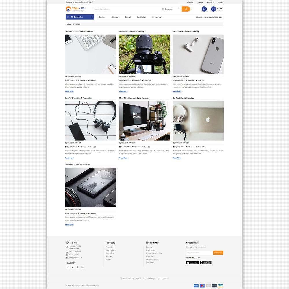 theme - Elektronik & High Tech - Trandnix - Multi Purpose Super Mega Store - 10