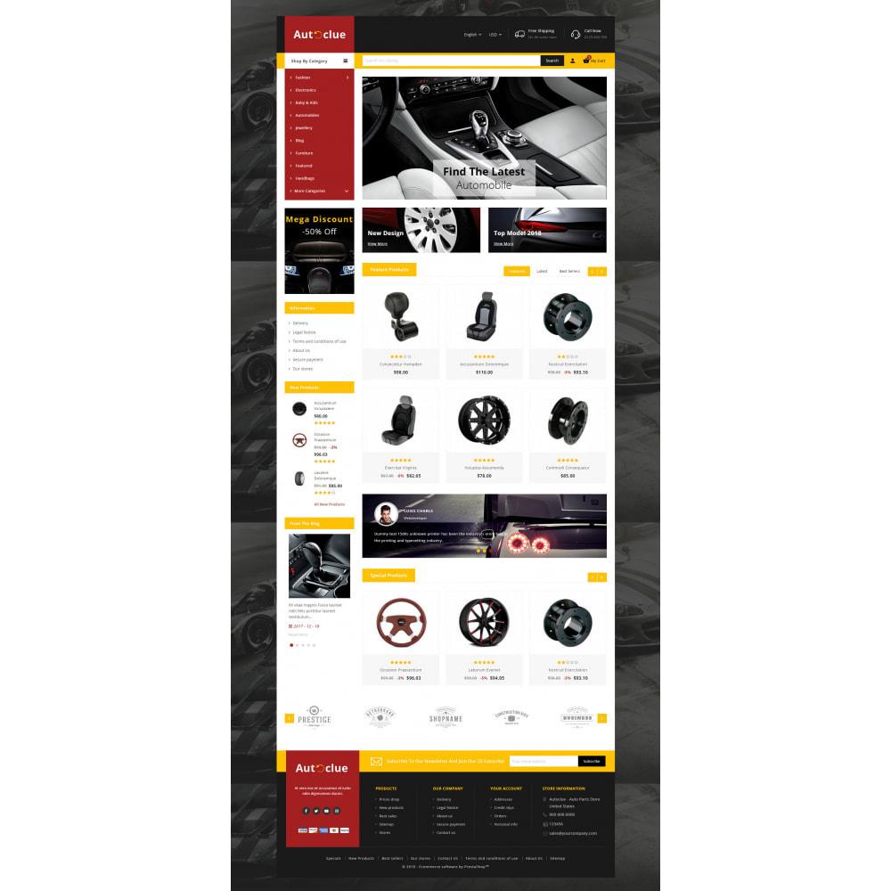 theme - Automotive & Cars - Autoclue - Automobile Store - 2