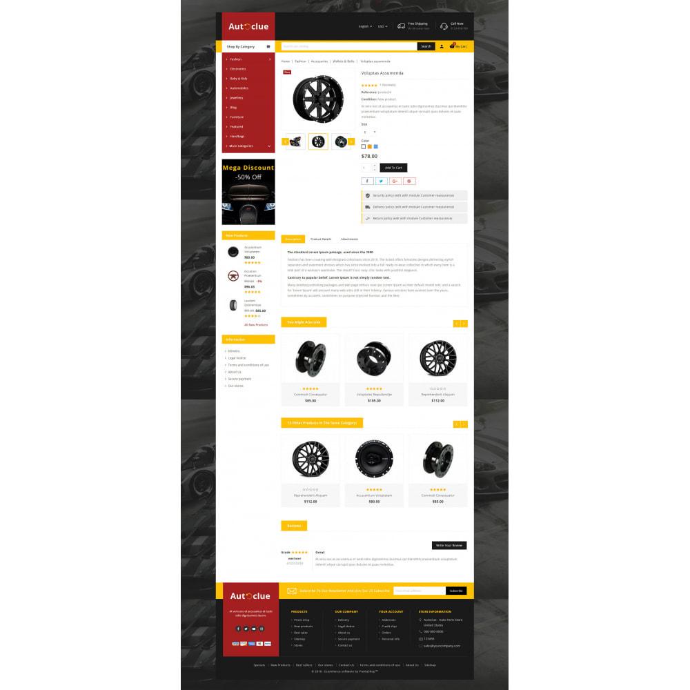 theme - Automotive & Cars - Autoclue - Automobile Store - 5