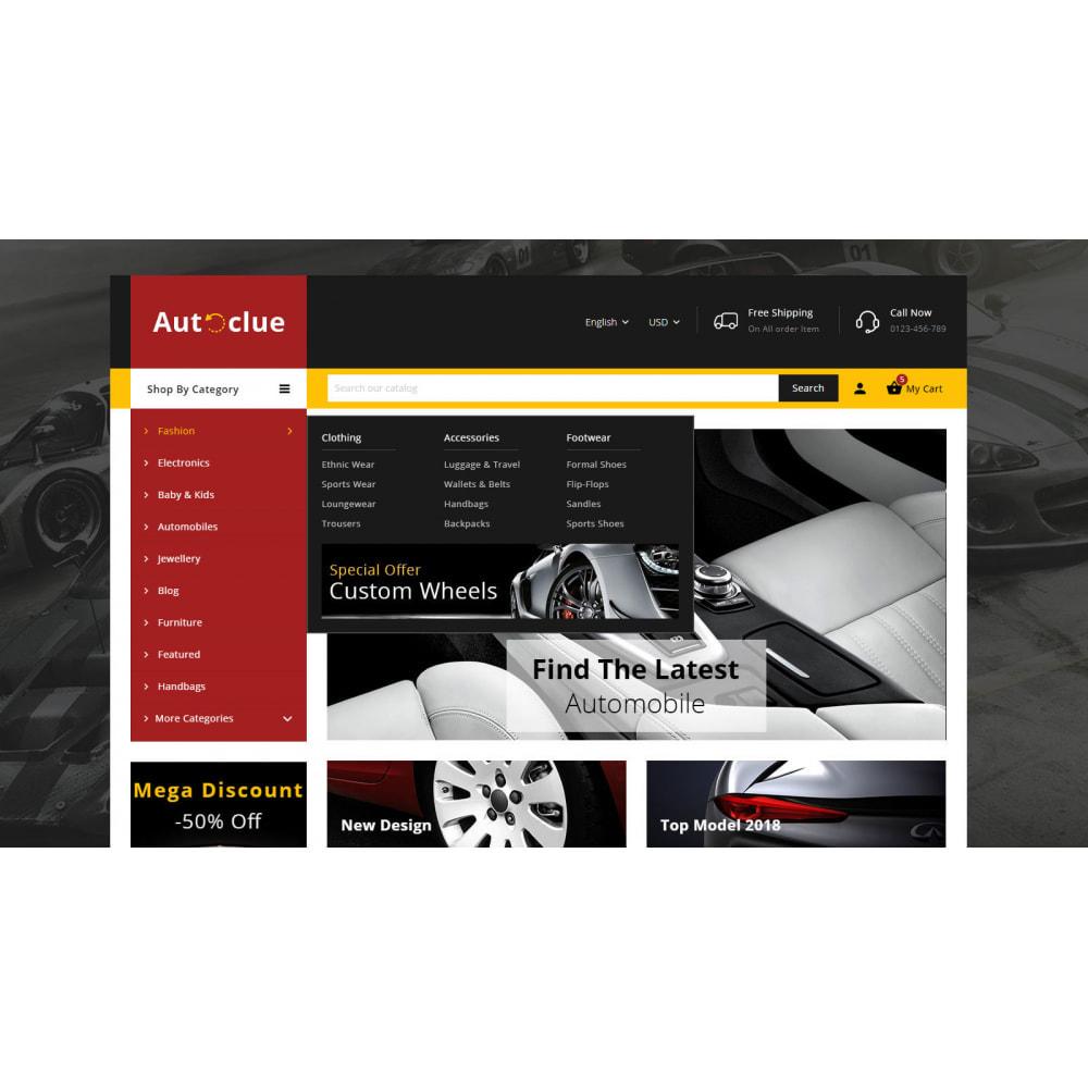 theme - Automotive & Cars - Autoclue - Automobile Store - 6