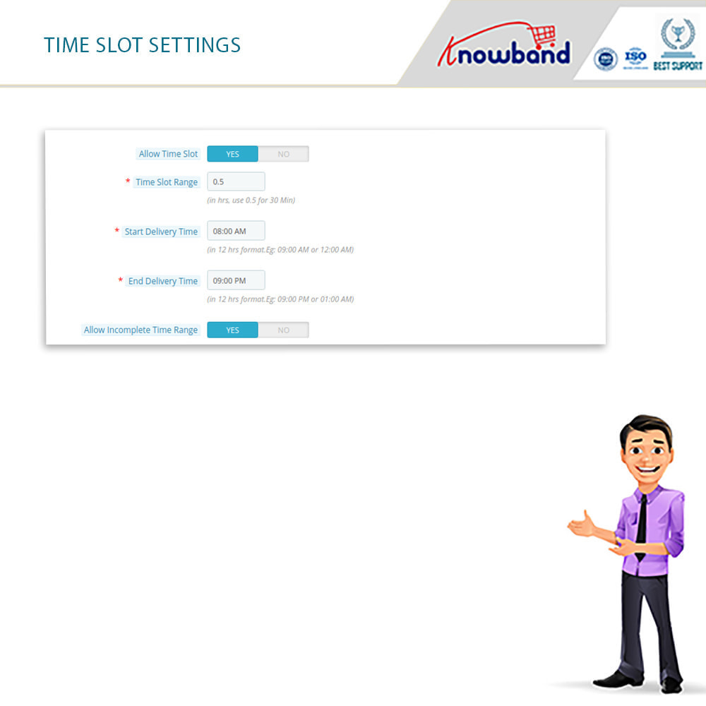 module - Дата доставки - Knowband - Preferred Delivery Time - 5