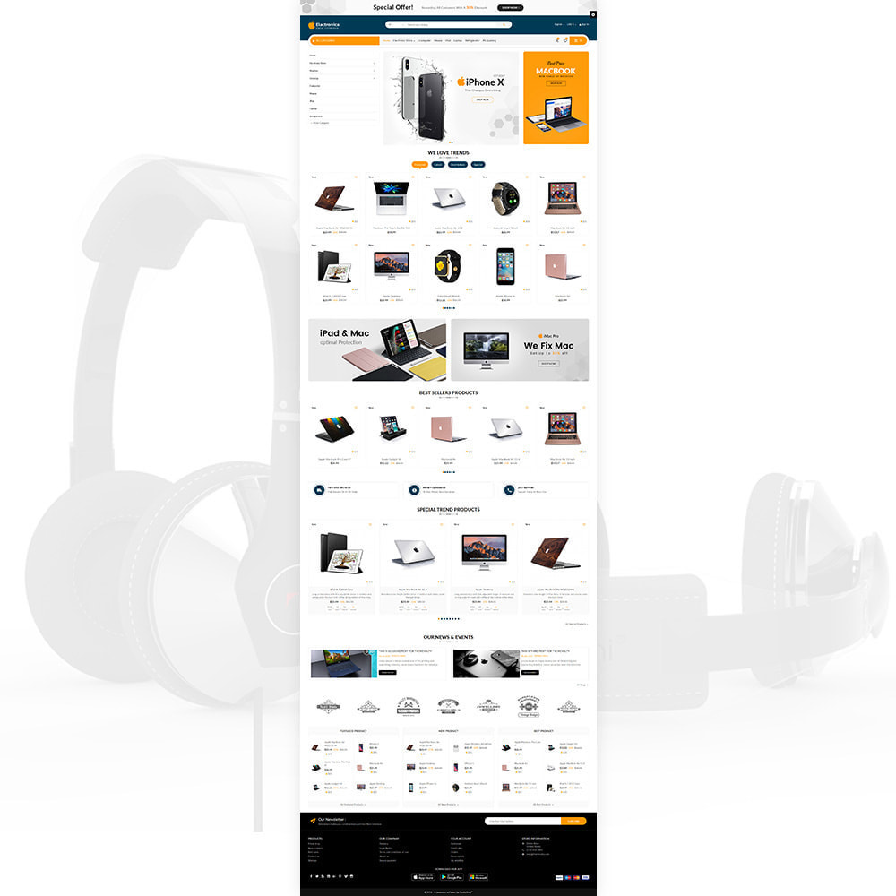 theme - Electronique & High Tech - Electronica – Electronic Multipurpose Store - 2